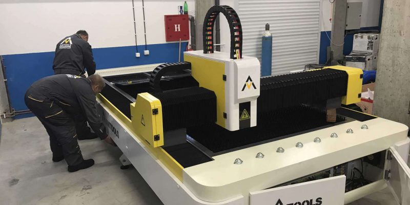 750W fiber laseri za secenje limova