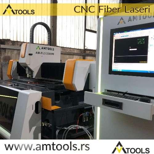 upravljacka jedinica fiber lasera sa stolom i gantrijem