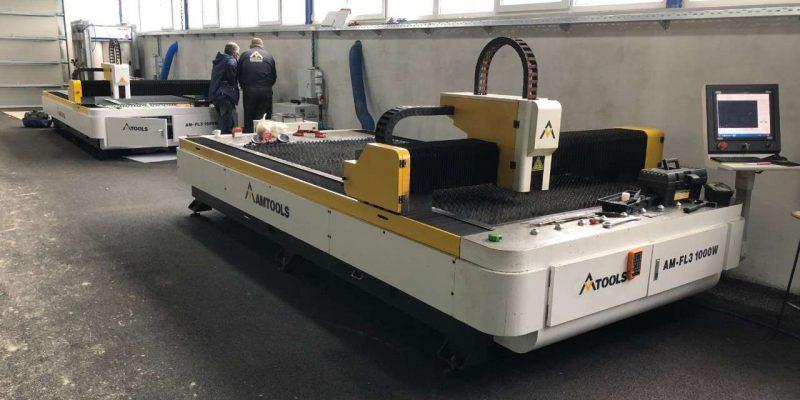 Jedna ukljucena fiber laser masina