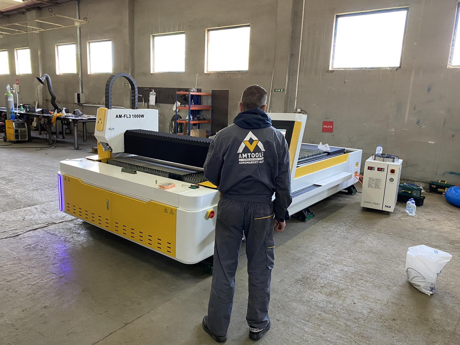 CNC fiber laseri made in serbia