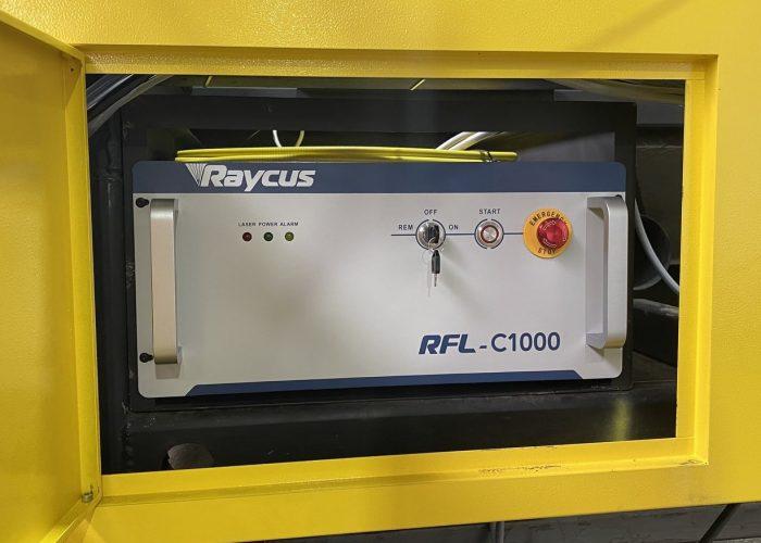 CNC Fiber Laser source, Raycus, 1000w