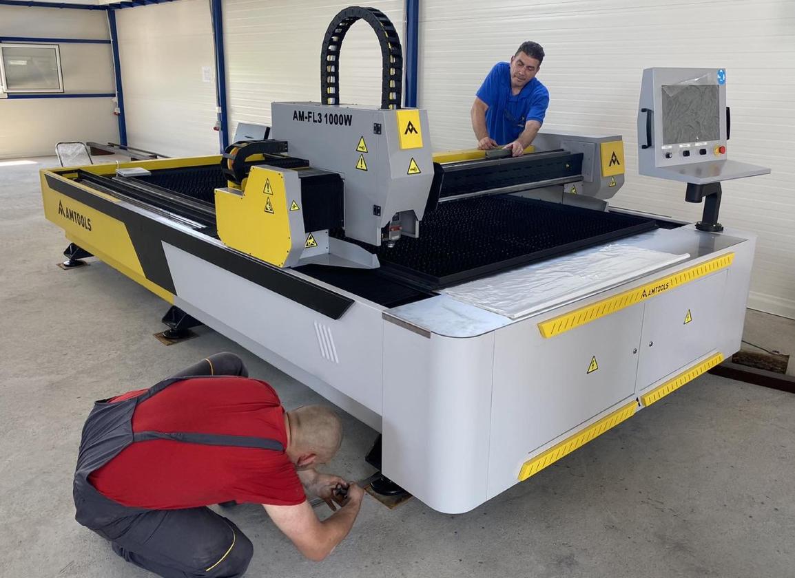 CNC fiber laseri domace proizvodnje aMTOOLS