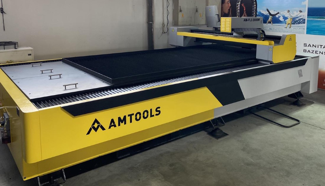 Fiber laser masina za secenje metala AMTOOLS
