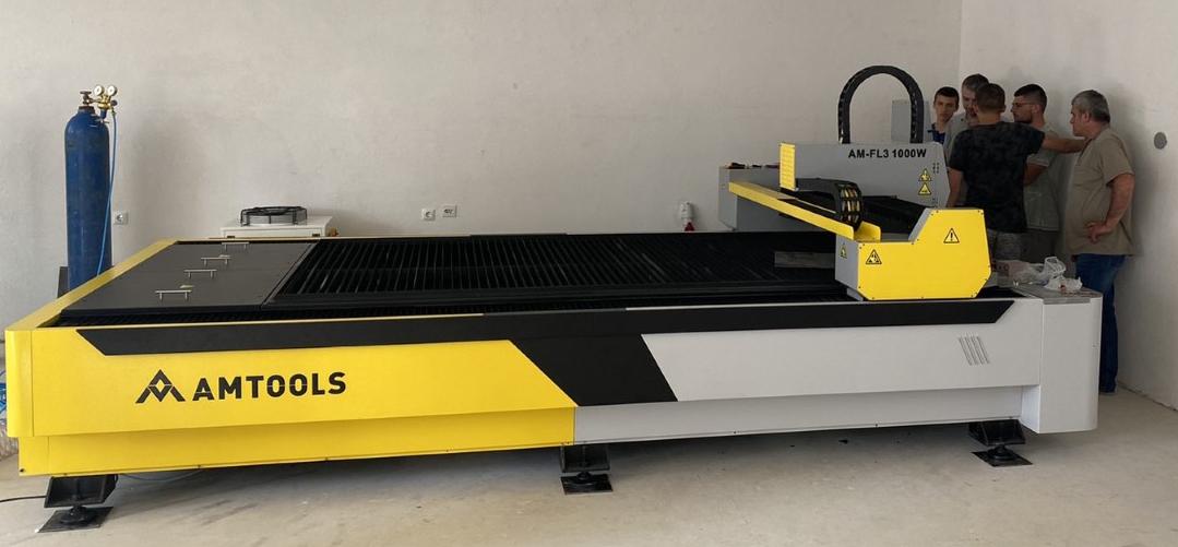 Montaza CNC fiber lasera AMTOOLS