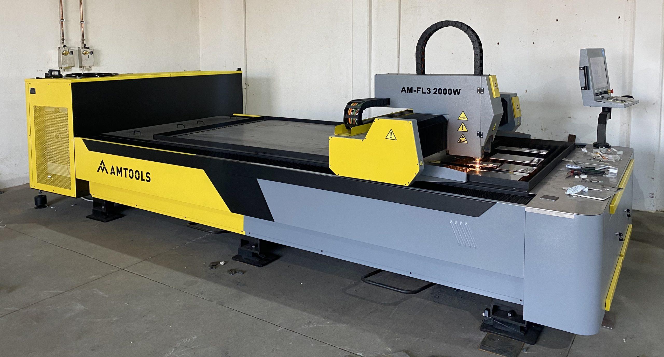 CNC Fiber laser pustanje u rad